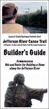 Builder's Guide brochure by Jefferson River Canoe Trail, MT.