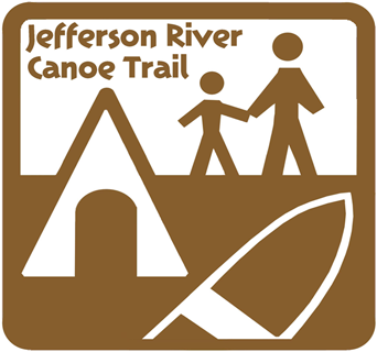 Jefferson River Canoe Trail Logo.