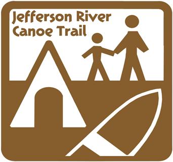 Jefferson River Canoe Trail Logo.